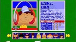 Original Backyard Baseball by Achmed Khan Backyard Sports Wiki Fandom Powered By Wikia