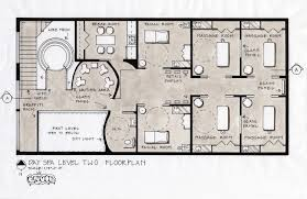 Plans Design by Spa Floor Plans Spa Design Concept Fifth Avenue New York City