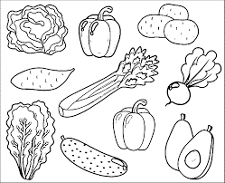 download vegetables colouring pages ziho coloring
