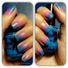 notd ombre nails sponge nail art vananarepublic
