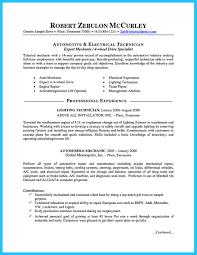 Dental Resume Samples 100 Sample Resume For Mechanic Job Maintenance Technician
