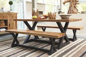 Exciting Ashley Furniture Dining Table With Bench  About Remodel - Ashley furniture dining table with bench