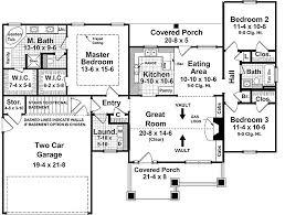 craftsman style house plan 3 beds 2 00 baths 1509 sq ft plan 21 246