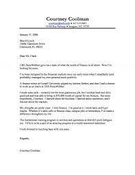 Cover Letter It Internship by Cover Letter