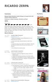 Graphic Designer Resume Sample by Web Design Resume Samples Visualcv Resume Samples Database