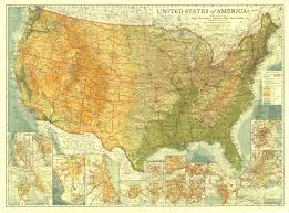 Map For United States by Reviews For United States Of America Map 1923 Maps Com