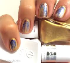 video tutorial watercolor nails featuring essie gel couture