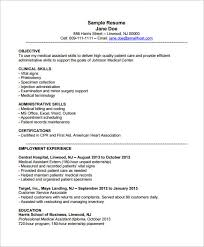 Medical Office Assistant Resume Examples by Medical Assistant Resume Examples Medical Office Administrative