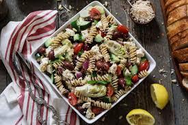 Pasta Salad Ingredients Mediterranean Pasta Salad Vegan U0026 Gf Vegan Huggs