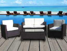 Outdoor Living Furniture by Modern Furniture Modern Metal Outdoor Furniture Medium Dark