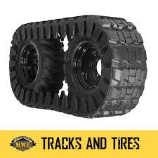 bobcat 853 single over tire track for 12 16 5 skid steer tires