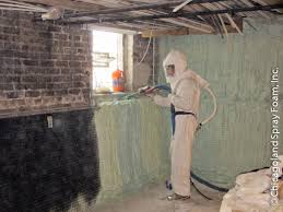 Insulating Basement Concrete Walls by Closed Cell Insulation Basement Waterproofing Mold