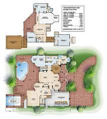 Mandalay Bay Floor Plan tuscan house plans luxury home plans old world mediterranean style
