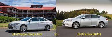 price for 2015 lexus es 350 toyota camry xle v6 vs lexus es 350 luxury for everybody