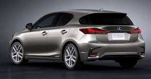 lexus harrier new model 2018 lexus ct 200h revealed with new styling tech