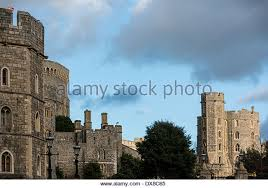 Home Of Queen Elizabeth Royal Windsor Castle Berkshire Home Of Queen Elizabeth Ii Stock
