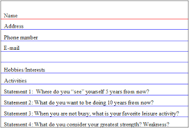 Resume Cover Letter Outline     BONP