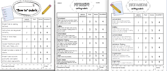 first grade writing rubric great  from sarah s first grade cause and effect essay examples Source
