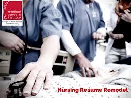 Resume Remodel  Keywords to Use for Your Nursing Resume   ECPI       happytom co