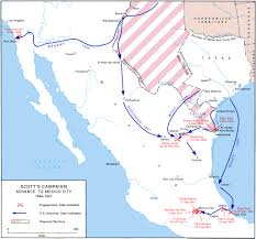 Us Circuit Court Map The Occupation Of Mexico May 1846 July 1848