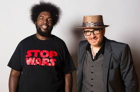 Elvis Costello and Questlove Talk      Wise Up Ghost      and      Dating      Relationship  Watch Here