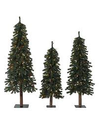 Sears Artificial Christmas Trees Unlit by Set Of 3 Christmas Trees Christmas Decor Ideas