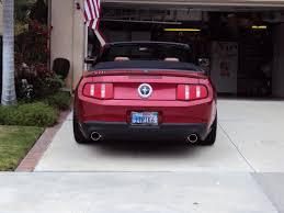 lexus vanity license plate poll what color for your 2012 mustang page 7 ford mustang forum