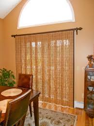 window treatment for glass door sliding glass door with averte woven wood woven wood vertical