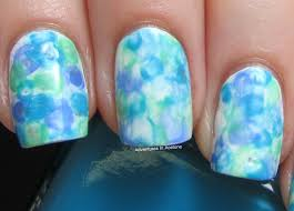 the digit al dozen does art watercolor nails adventures in acetone