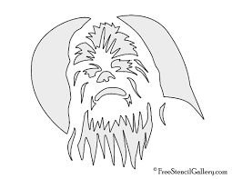 chewbacca stencil free stencil gallery