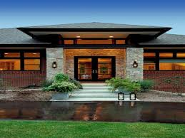 prairie style exterior doors contemporary craftsman style homes