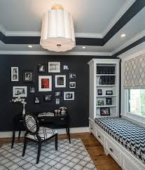 Decorating Ideas For Home Office by 30 Black And White Home Offices That Leave You Spellbound