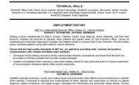 Free Sample Customer Service Representative Resume Template with     Dawtek Resume and Esay