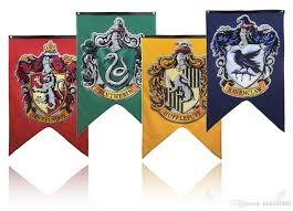 Rebel Flag Home Decor by 2017 Dhl 75 125cm Harry Potter Gryffindor Hufflepuff Slytherin
