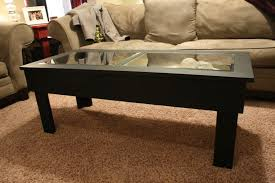 Display Coffee Table Coffee Tables Mesmerizing Small Foosball Coffee Table Design
