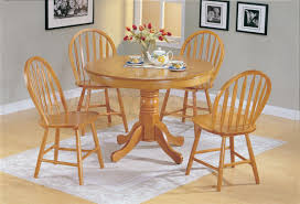 Dining Room Sets With Round Tables Extraordinary Round Wood Kitchen Tables Barn Wood Dining Table