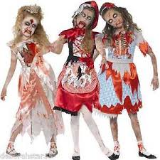 Girls Zombie Halloween Costumes Girls Zombie Fairytale Princess Costume Smiffys Scary Halloween