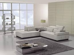 Small Sofa Sectional by Furniture Design Small White Color Modern Leather Sectional Sofa