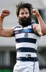 Jimmy Bartel beard  pictures   Herald Sun Herald Sun Back in action  The beard looked particularly rugged after Jimmy boy booted a last quarter goal in the Cats      big win over Melbourne on the weekend