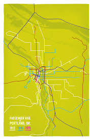 Springfield Oregon Map by My Transit Maps Cameron Booth