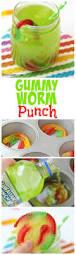gummy worm punch recipe saints birthdays and summer