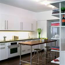 Apartment Therapy Kitchen by Contemporary Apartment Therapy Kitchen Cabinets Rack With Bright
