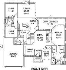 modern beach mansion floor plan