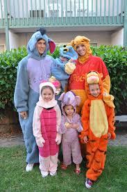 Group Family Halloween Costumes by Disney Winnie The Pooh Costumes Halloween Eeyore Piglet Tigger