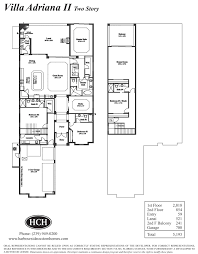 Two Story Floor Plan Fiddlers Creek Marsh Cove Harbourside Custom Homes U2013 Naples Fl