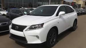 2012 lexus rx 350 for sale canada 2015 lexus rx 350 awd f sport review youtube