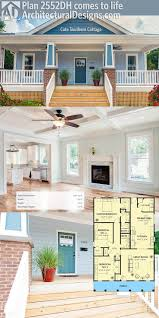 Small House Plans Cottage by 106 Best Bungalow Style House Plans Images On Pinterest Bungalow