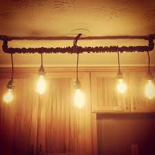 Track Lighting For Kitchens by Diy Rustic Home Track Lighting For Kitchen Made With Blackened