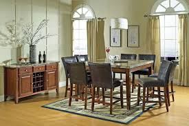 Steve Silver Dining Room Furniture Steve Silver Dining Room Montibello Pub Table And Four Pub Chairs