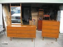 Century Modern Furniture Mid Century Modern Dresser Makeover Prodigal Pieces